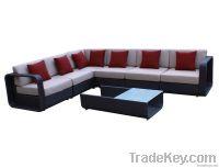 7pcs rattan sofa set