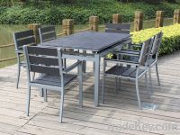Extension table set