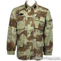 PU Coating Waterproof Camouflage Military Uniform, BDU, Army Uniform