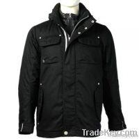 Men's Hooded Jacket Lined, Winter Workwear, Winter Jacket