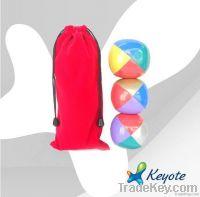 Mixed colors juggling ball set