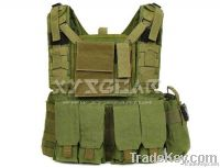 Tactical Molle Recon Vest Pack Combo