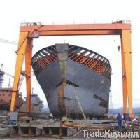 2012 China popular ship building gantry crane