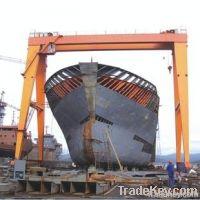 2012 China popular ship building gantry crane