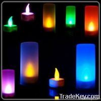 LED flashing tealight candle for home decoration
