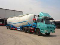 cement bulker semi trailer