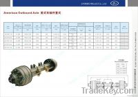 amarica Outboard axle