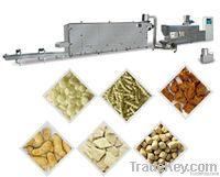 Textured soybean processing machine/line