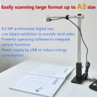 educational document scanner  connect via.usb, 8.0MP, school students