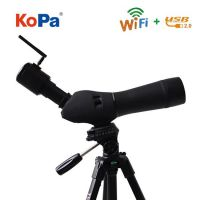 WiFi spotting scope work with iPhone/iPad/Android/PC, for security