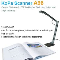 A4 size educational document scanner  connect via.usb, 5.0MP, school students