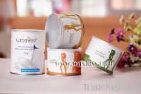 Tin Package soft depilatory wax