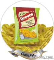 Crinkled Banana Chips - Classic Salty