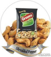 Groves - Fried Cashew nuts - Shredded Pepper