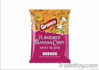 Flavored Banana Chips
