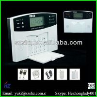 2014 Intelligent home security GSM Alarm System GSM-500 with LCD display