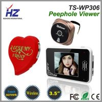3.5''touch screen 2.4GHz wireless high resolution digital door peephole viewer