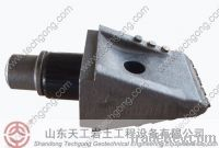 Flat teeth/foundation drilling bits