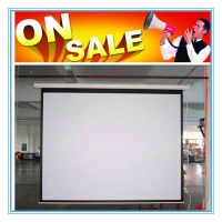 China made matte white electric projector screen