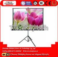 TOP sales Portable tripod  projection screen