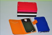 2013 new pu leather mobile phone case for 9500 9082 7100
