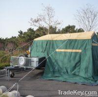2013 rear folding hard floor camping trailer