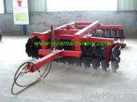 Hydraulic offset heavy-duty disc harrow
