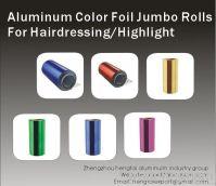 Aluminum Color Foil Jumbo Rolls For Hairessing 8011