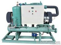 Industry water chiller with Bitzer screw compressor