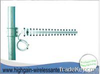 2.4GHZ wifi high gain wireless directional  Yagi antenna