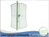3G high gain directionl outdoor grid parabolic antenna