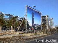 12*12in outdoor aluminum advertisement banner structure