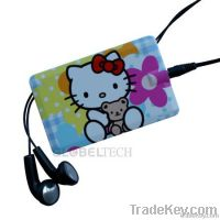 Card Mp3 player, audio guide