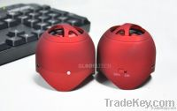 Stereo mini speaker for iphone ipod