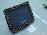 Ipad2 & New iPad Cover leather case-Leopard
