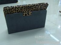 Ipad2 & New iPad Cover leather case-Leopard