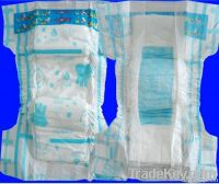 baby diaper in bales made in china