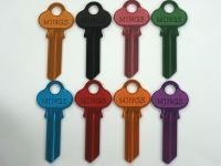 Colors key blank