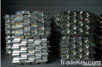 High quality Tin ingot with Sn 99.9% min