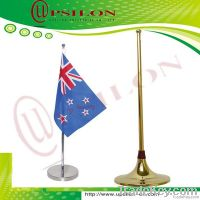 high quality telescopic table flag pole