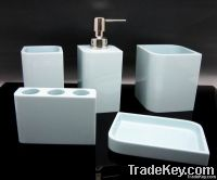 home resin bathroom set 9pcs