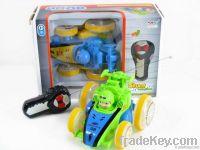 2CH R/C Stunt movable car toy