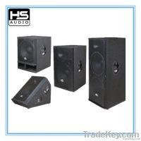 Wooden system speaker box