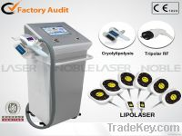 Latest technology cryotherapy cool freezing weight loss beauty equipme
