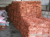 Copper WIRE SCRAP, (Millberry) 99.95%