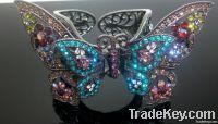 butterfly cuff bangle