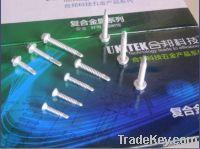 SS304+410 Bi-Metal Self Drilling Screw Pan Head