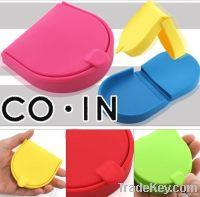 100% Silicone coin purse coin bag