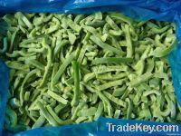 IQF green pepper slice