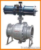 Cast steel ANSI& DIN ball valve